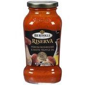 Bertolli Riserva Select Pairings & White Truffle Oil Porcini Mushrooms Sauce