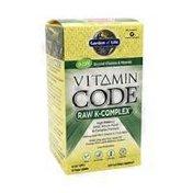 Garden of Life Raw K-Complex Dietary Supplement