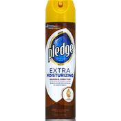 Pledge Furniture Spray, Extra Moisturizing, with Lemon Oil