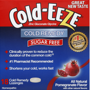 Cold-Eeze Cold Remedy, Sugar Free, Lozenges, Pomegranate Flavor