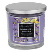 Aromascape Soy Wax Blend Candle Lavender + Vanilla