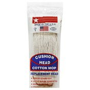 Jw Manufacturing Mop Replacement Head, Cotton, Cushion Head