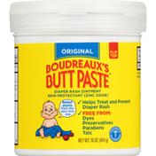 Boudreaux's Butt Paste Original Butt Paste Diaper Rash Ointment