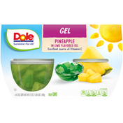 Dole Pineapple in Lime Flavored Gel
