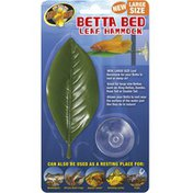 Zoo Med Size Large Betta Bed Leaf Hammock Aquarium Accessory