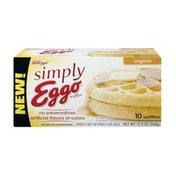 Eggo Kelloggs Simply Eggo Original Waffles - 10 CT
