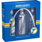 Bud Light NHL St. Louis Blues 2019 Champions Edition Beer, Bottles