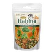 Higgins Carrots, Peas & Greens Habitat Natural Snack for Rabbits