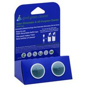 Good Green Cleaner Odor Eliminator & All-Purpose Cleaner, Refill Caps