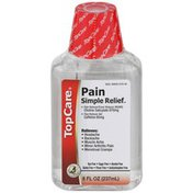 TopCare Simple Relief, Pain Reliever/fever Reducer (nsaid) Choline Salicylate 870 Mg, Pain Reliever Aid Caffeine 65 Mg Liquid