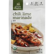 Simply Organic Marinade Mix, Chili Lime