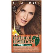 Clairol Natural Instincts, 6BZ / 12A Navajo Bronze Light Caramel Brown, Semi-Permanent Hair Color, 1 Kit Female Hair Color