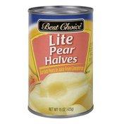 Best Choice Lite Pear Halves