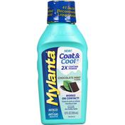 Mylanta Antacid + Anti-Gas, Chocolate Mint Flavor