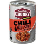 Campbell's® Chunky® Hot & Spicy Beef & Bean Chili
