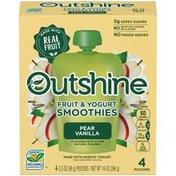 Outshine Pear Vanilla Fruit & Yogurt Smoothies