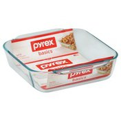 Pyrex Bakeware, Glass, 2 qt