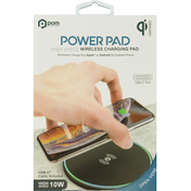 POM Wireless Charging Pad, High Speed, USB-C, 10 W
