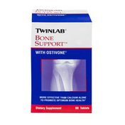 Twinlab Bone Support with Ostivone Dietary Supplement Tablets - 60 CT