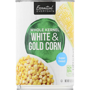 Essential Everyday White & Gold Corn, Whole Kernel