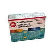 Life Brand Extra Strength Cold Relief Medication Duo Pack