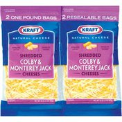Kraft Colby & Monterey Jack 16 Oz Shredded Cheese