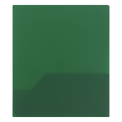 Smart Living 2 Pocket Poly Portfolios Green