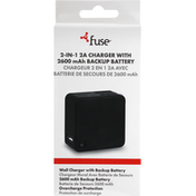 Fuse Wall Charger, with Backup Battery