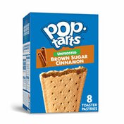 Kellogg's Pop-Tarts Toaster Pastries, Breakfast Foods, No Frosting, Unfrosted Brown Sugar