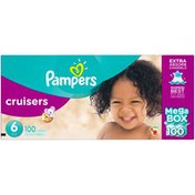 Pampers Cruisers Pampers Cruisers Diapers Size 6 100 count Diapers