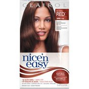 Clairol Nice 'n Easy, 5RB/119B Natural Medium Reddish Brown, Permanent Hair Color, 1 Kit Female Hair Color