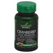 Puremark Naturals Cranberry, Plus Probiotic, Tablets