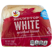 Ahold Bread, White, Round Top