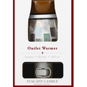 Tuscany Candle Outlet Warmer, Glass Mosaic