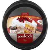 GoodCook Cake Pan, Round, 9 in