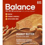 Balance Bar Nutrition Bar, Peanut Butter