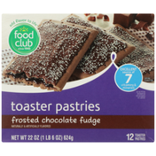 Food Club Frosted Chocolate Fudge Toaster Pastries