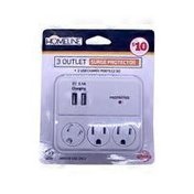 Homeline 3 Outlet 500 Joules Surge Protection