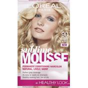 L'Oreal Permanent Haircolor, Pure Light Blonde 90