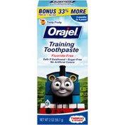 Orajel Tooty Fruity Training Toothpaste