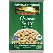Westbrae Natural Soy Beans, Organic
