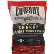 Cowboy Smoking Wood Chunks, Cherry