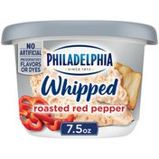 Philadelphia Roasted Red Pepper Whipped Cream Cheese Spread