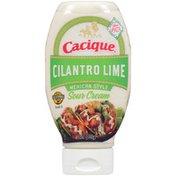Cacique Cilantro Lime Mexican-Style Sour Cream