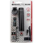 Maglite Flashlight, LED, XL50