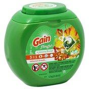 Gain Detergent, 3 in 1, Island Fresh, Pacs