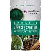 Essential Living Foods Organic Moringa & Spirulina Superfood Powder