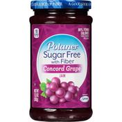 Polaner Sugar Free with Fiber Concord Grape Jam