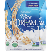 Rice DREAM Rice Drink Original Enriched - 4 CT