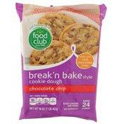 Food Club Chocolate Chip Break'N Bake Cookie Dough